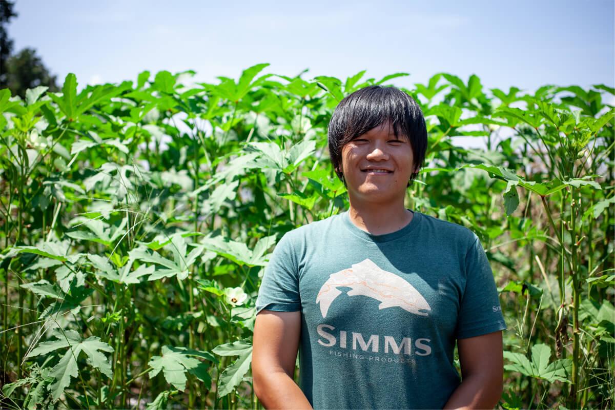 繁昌農園さんの有機野菜と農場ツアー
